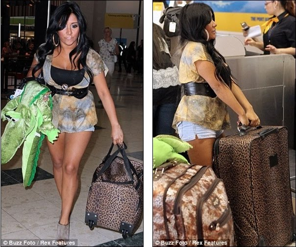 photos of jersey shore cast in italy. Jersey Shore cast touch down