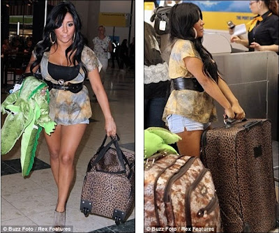 is the jersey shore cast in italy. Italy, here we come!