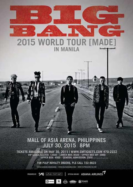 BIGBANG Live in Manila MADE 2015 World Tour