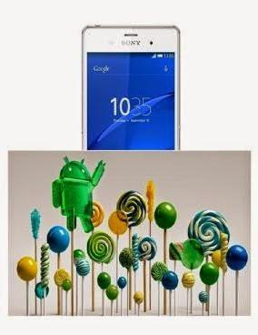 Sony Xperia Z Mendapat Update Lollipop