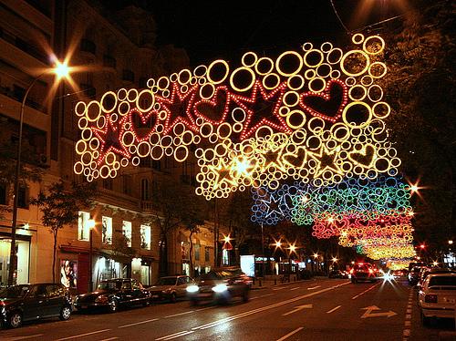 calle soberan a decoraci n navide a