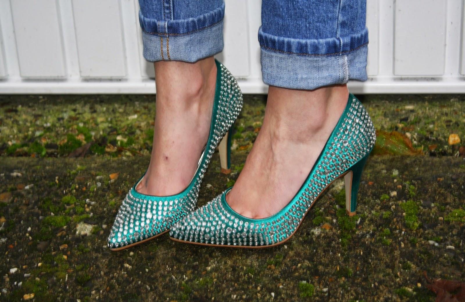 rainbow club heels