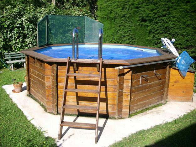 Vortex 3 la piscine hors sol for Piscine demontable bois