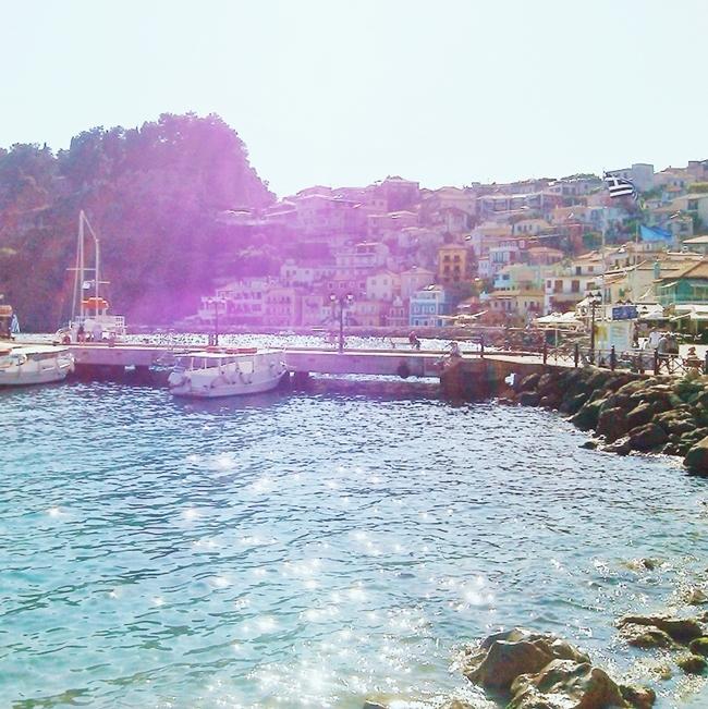 Instagram @lelazivanovic.Glam Fab Week. Parga, Greece.