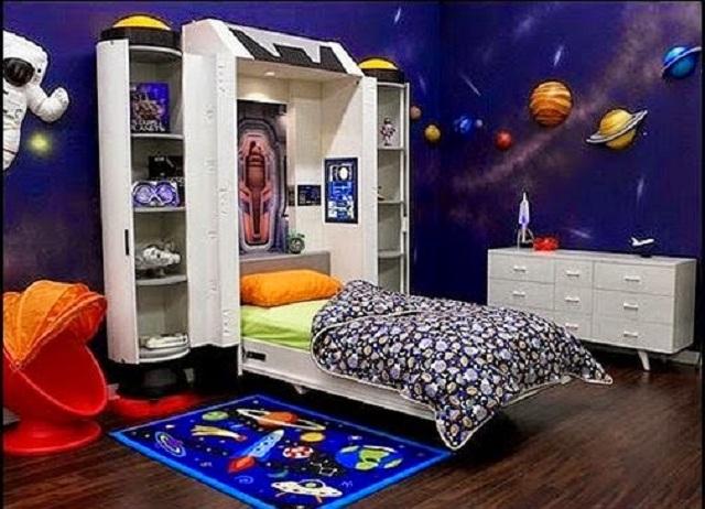 Dormitorios infantiles de universo - Diseno de habitaciones infantiles ...