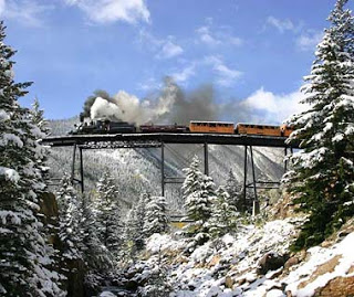Georgetown loop Railroad, Colorado