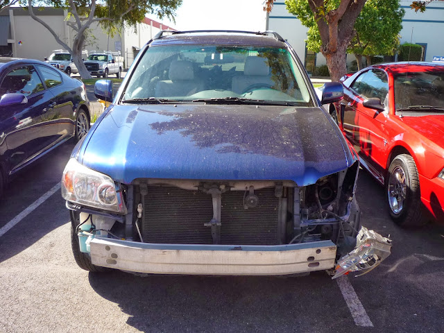 2004 Toyota Highlander Collision Repair at Almost Everything Auto Body