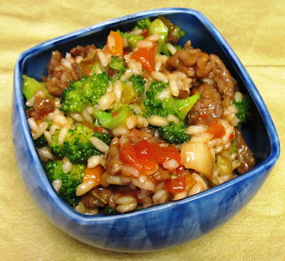 Debbi Does Dinner... Healthy & Low Calorie: Sausage & Broccoli Risotto