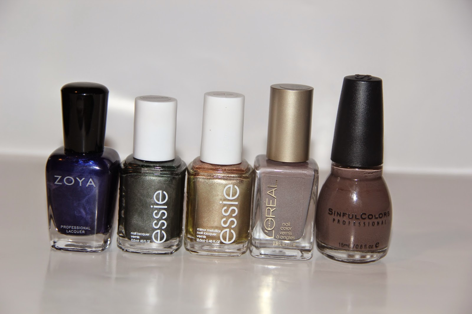 Read With Nelia: Fall Series: My Top 10 Fall Nail Polishes