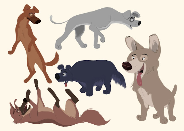 Character Design Dog : Borja montoro character design some dogs