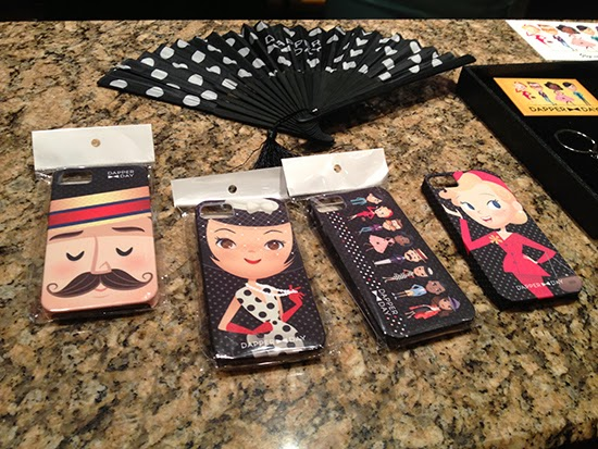 Dapper Day phone cases and fan- Spring 2014