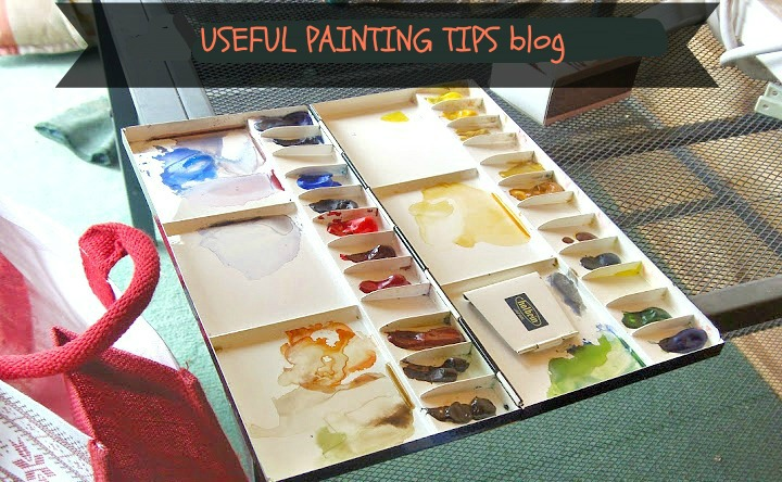 Tips and techniques in painting....