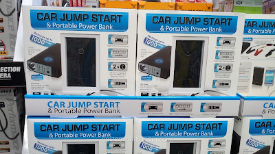 Car Jump Start and Portable Power Bank – There when you need it