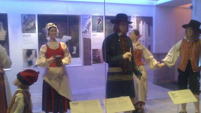 Sala de las tradiciones en el Museo Nórdico