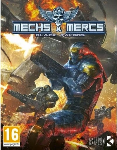 Game Mechs & Mersc:Black Talons Full Crack Terbaru 2015 logo cover by www.jembercyber.blogspot.com