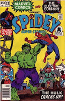 Spidey rassles the hulk!