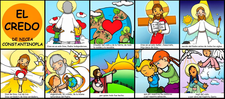 SGBlogosfera. Amigos de Jesús: EL CREDO DE NICEA-CONSTANTINOPLA ...