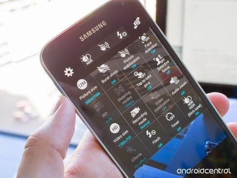Kamera HDR Samsung Galaxy S5
