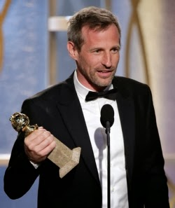 Spike Jonze wins the Golden Globe for Best Screenplay for HER