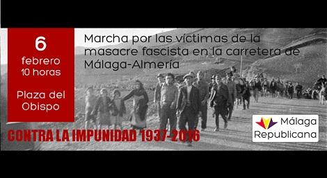 """Marcha por las víctimas de la """"Desbandá"""""""