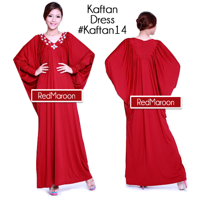 Long Sleeve Kaftan Dress #Kaftan14 Baju Long Dress Kaftan