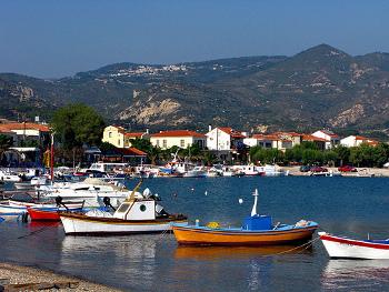 Vistas de Samos - Islas Griegas