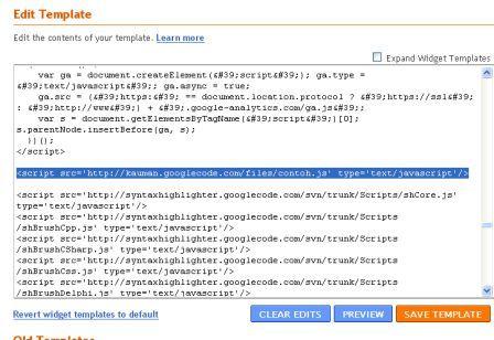 Cara Mengatasi Loading Blog dengan Google Code