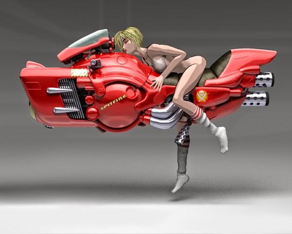 Future hover bikes