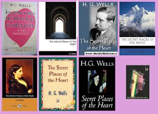 collage de portadas de Los rincones secretos del corazón