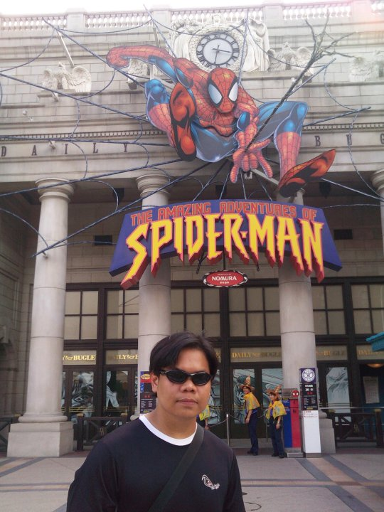 Osaka Universal Studios Japan Amazing Adventures of Spiderman