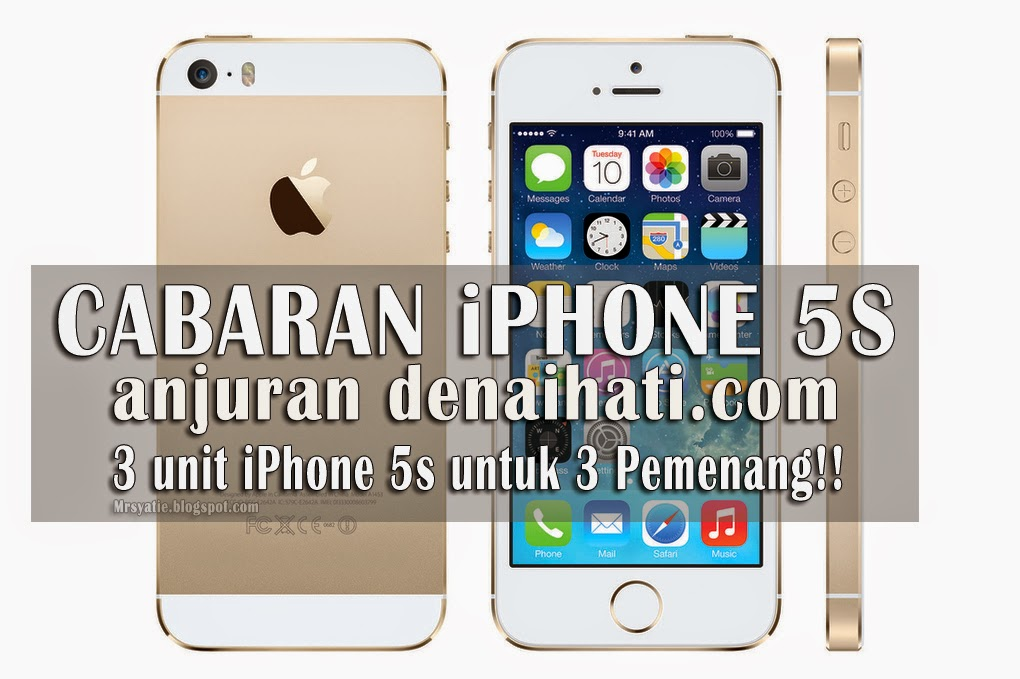 iPhone 5s Gajet Impian Setiap Blogger