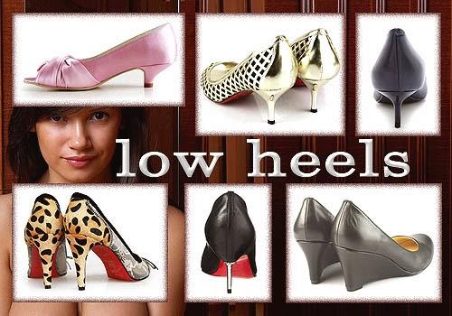 Model Sepatu Wanita Hak Rendah