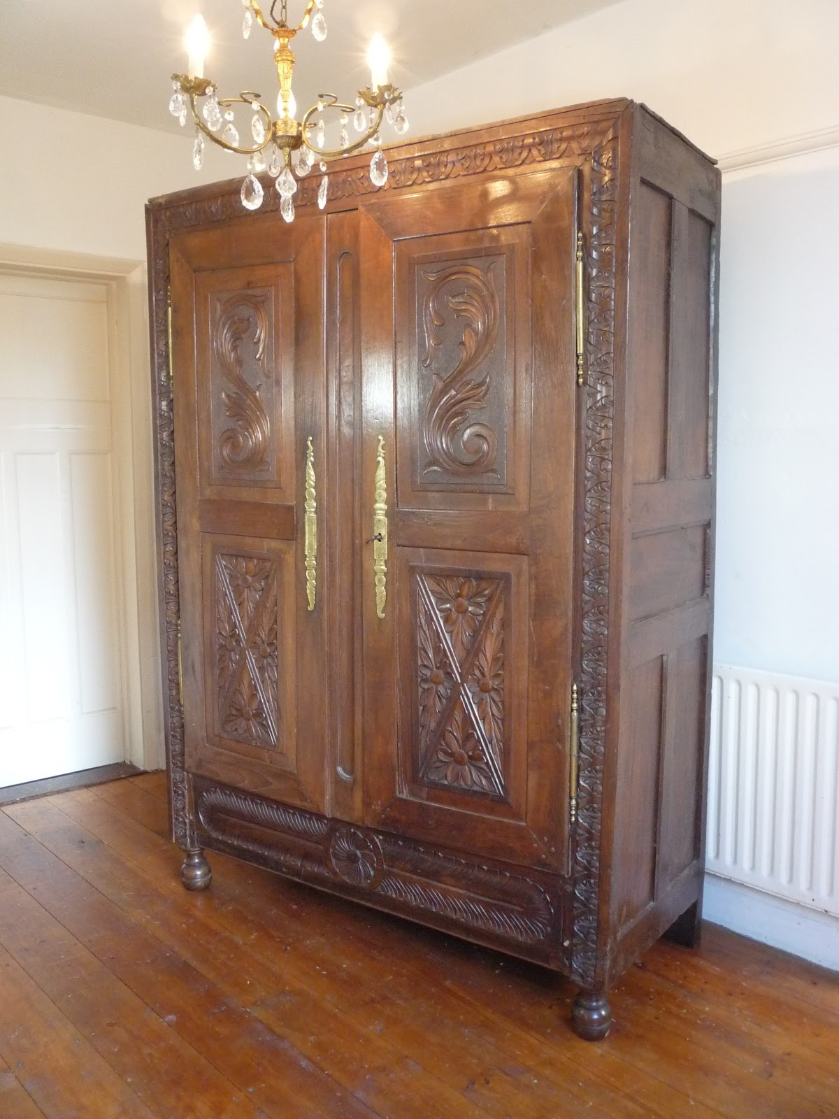 French Nouveau Armoire Furniture