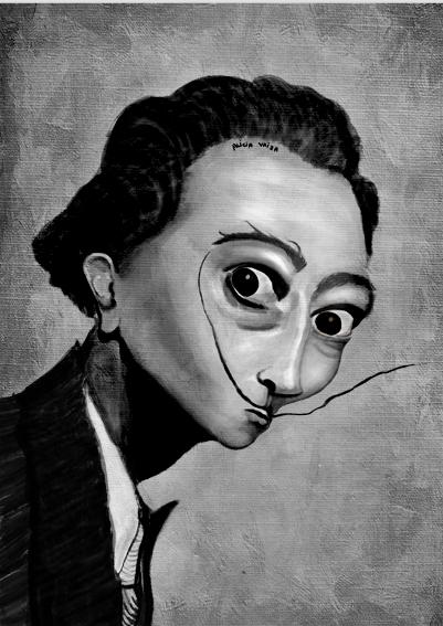 Dalí Ilustración Digital