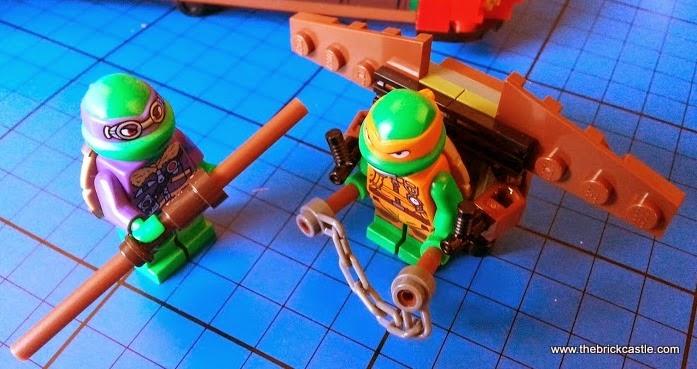 LEGO TMNT Turtle glider 79120 T-Rawket set