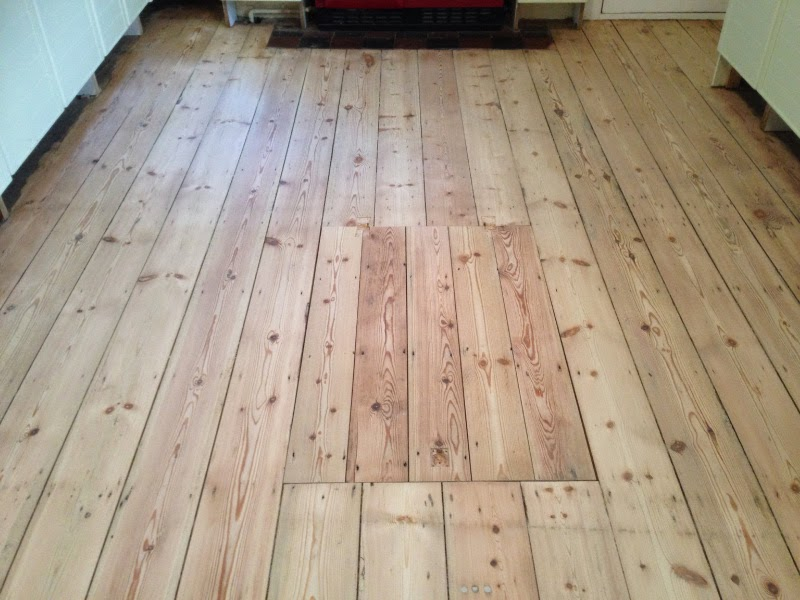 Pine floor sanded and lacquered in Cottenham Cambridge ~ Art of ...