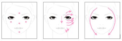 za cosmetics 粉底 真晳美白護膚乾濕粉 Shiseido