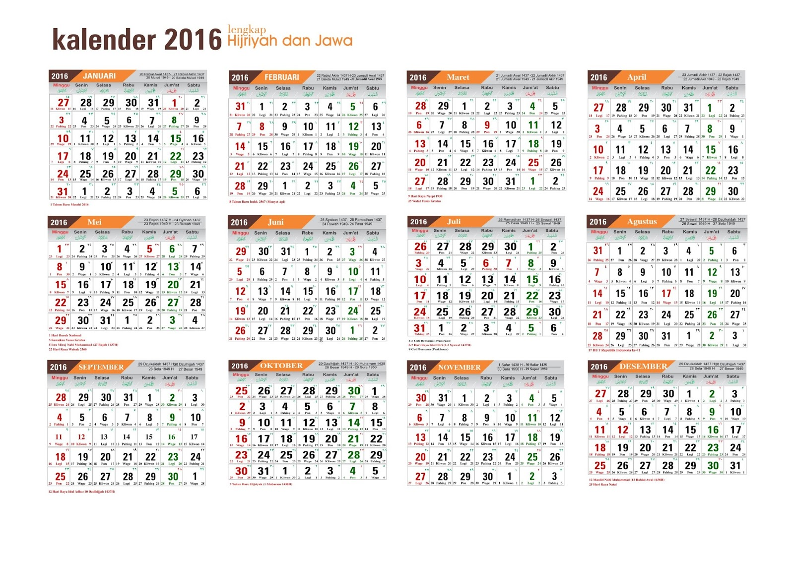 "... for ""Download Kalender 2015 Masehi Dan Jawa"" – Calendar 2015"