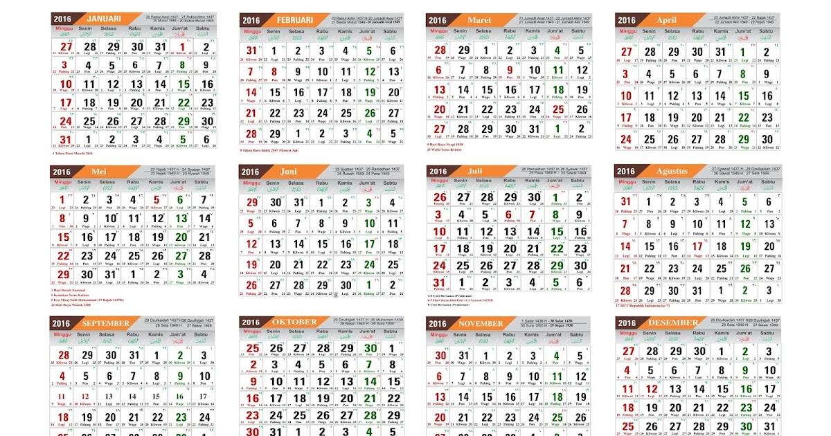 kalender jawa 2017 | Calendar 2017