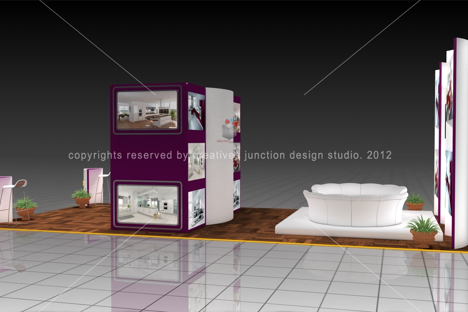 Exhibition Stand Design Decor : Creatives junction design studio home decor exhibition stand