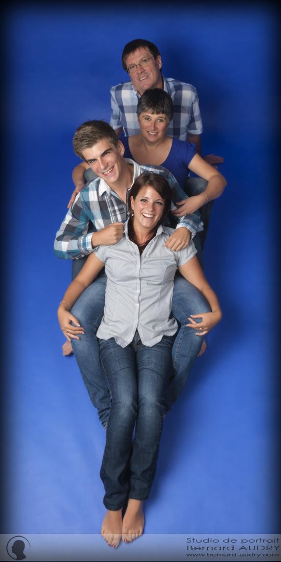 Une séance photo en famille