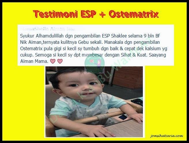 ESP, Pengedar Shaklee Kuantan, Produk SHAKLEE, Testimoni ESP,