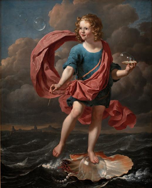 Karel Dujardin: Allegori på forgængeligheden