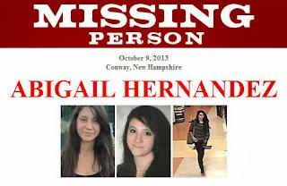 MISSING: Abigail Hernandez