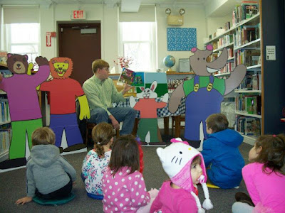 Local Author/Illustrator Visits Story Time