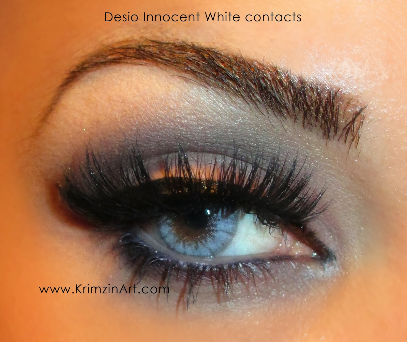 Contacts: Krimzin Art: Desio Contacts Innocent White: Review & Photos