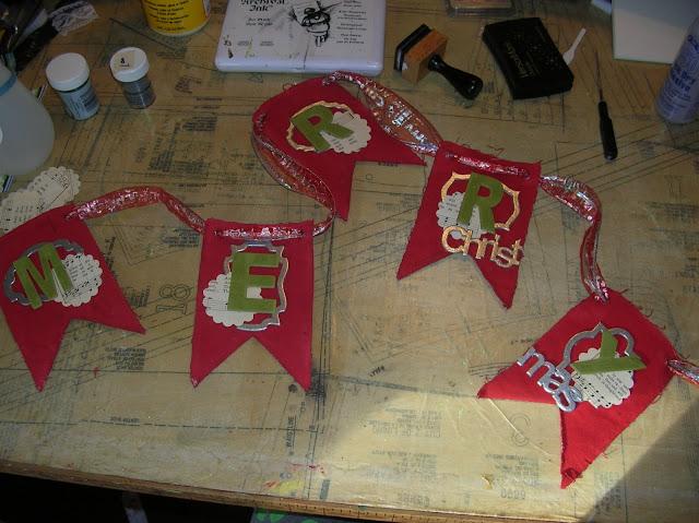 Christmas Pendant Banner