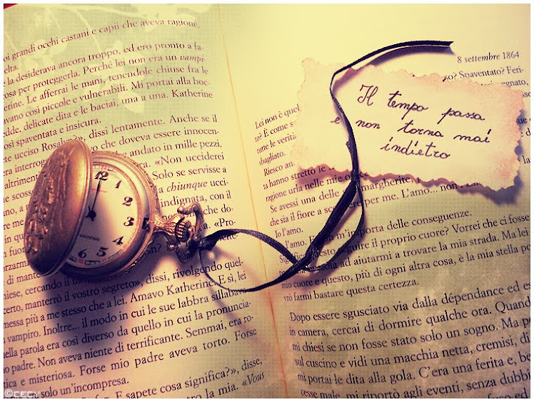 you must write, time is precious
