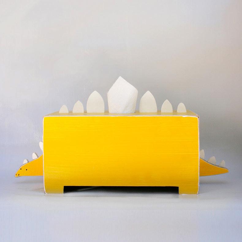 Peculiar dispensadores de pañuelos de papel con forma de animales