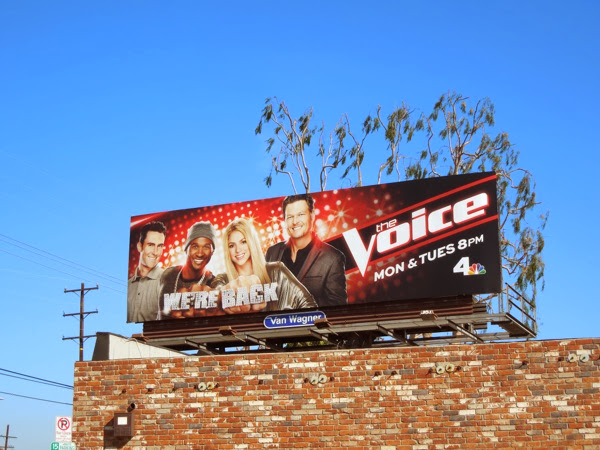 The Voice season 6 billboard